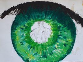 Yago, Untitled 04, 1997-2003, acrylic on paper, 70×50, 04