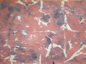 Yago, Untitled 06, 1997-2003, varnish on tissue paper, 50×70, 06