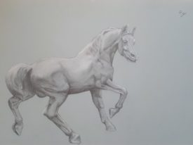 Yago, Untitled 177, 1997, drawing on paper, 70×50, 177