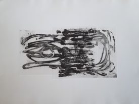 Yago, Untitled 210, 1997-2003, engraving on paper, 70×50, 210