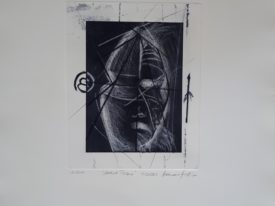 Yago, Untitled 218, 2000, engraving on paper, 50×70, 218