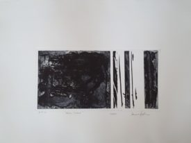 Yago, Untitled 219, 2000, engraving on paper, 70×50, 219