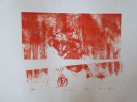 Yago, Untitled 220, 2000, engraving on paper, 70×50, 220