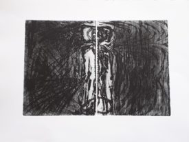 Yago, Untitled 235, 1997-2003, engraving on paper, 50×35, 235