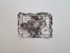 Yago, Drawing and stains, 1998, engraving on paper, 50×35, 242