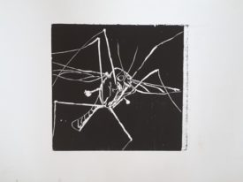 Yago, Untitled 243, 1997, engraving on paper, 50×35, 243