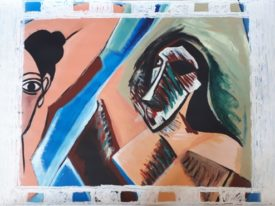 Yago, Untitled 39, 1998, acrylic on paper, 100×70, 39