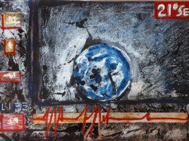 Yago, Untitled 43, 1997-2003, acrylic on paper, 100×70, 43