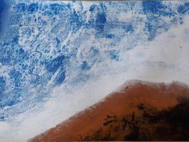 Yago, Untitled 50, 1997-2003, acrylic on paper, 100×70, 50