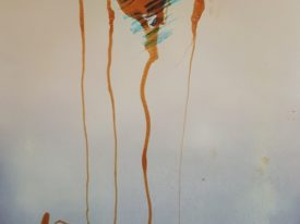 Yago, Untitled 10, 1997-2003, mixed technique on paper, 50×70, 10