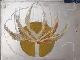 Yago, Untitled 150, 1997-2003, acrylic on wood, 58×134, 150