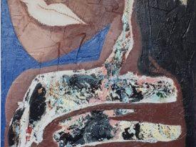 Yago, Untitled 152, 1997-2003, acrylic on wood, 85×190, 152
