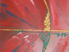 Yago, Untitled 153, 1997-2003, acrylic on wood, 55×98, 153