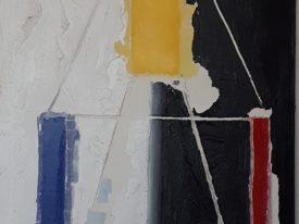 Yago, Untitled 154, 1997-2003, acrylic and sand on canvas, 80×120, 154