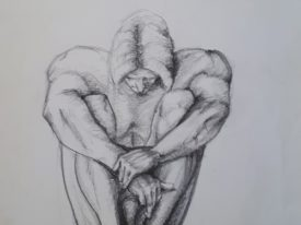 Yago, Untitled 172, 1997-2003, drawing on paper, 33×48, 172