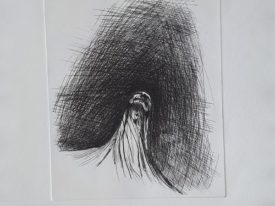 Yago, Untitled 190, 1997-2003, engraving on paper, 50×70, 190