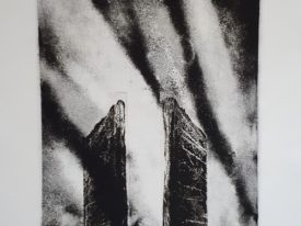 Yago, Untitled 216, 1997-2003, engraving on paper, 50×70, 216