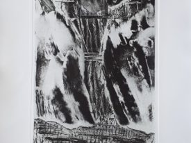 Yago, Untitled 217, 2001, engraving on paper, 50×70, 217