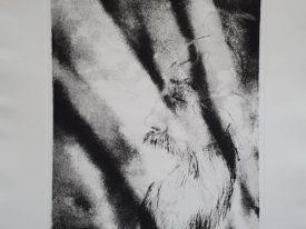 Yago, Vultu quo coelum tempestatque serenat, 1999, engraving on paper, 50×70, 228