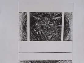 Yago, Untitled 230, 1998, engraving on paper, 37.5×56, 230