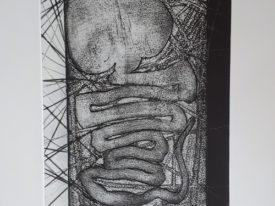 Yago, Embryo, 2001, engraving on paper, 35×50, 236