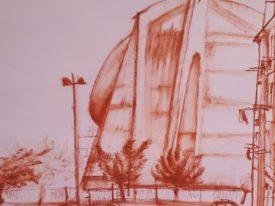 Yago, Untitled 28back, 1997-2003, drawing on paper, 50×70, 28back