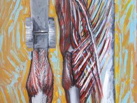 Yago, Untitled 34, 1997-2003, varnish on paper, 50×70, 34