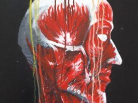 Yago, Untitled 35back, 1997-2003, acrylic on wood, 50×70, 35back