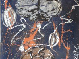 Yago, Untitled 64, 1997-2003, acrylic on paper, 70×100, 64