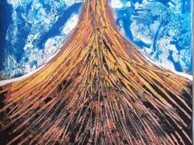 Yago, Untitled 76, 1997-2003, acrylic on paper, 70×100, 76