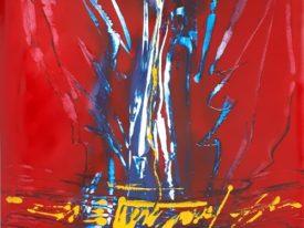 Yago, Untitled 95, 1997-2003, acrylic on paper, 70×100, 95