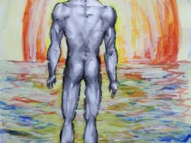 Yago, Untitled 297, 1997-2003, tempera on paper, 33×48, 297